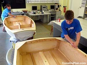 """Bauplan """"Optimist"""" Trainingsboot"""