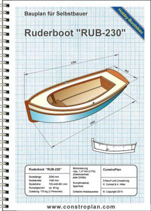 Auswahl Bootsbaupläne